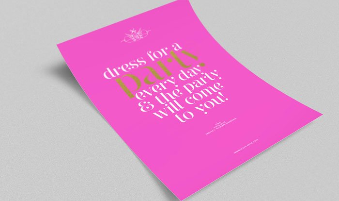 Steve Edge Design Shop - Dress For A Party