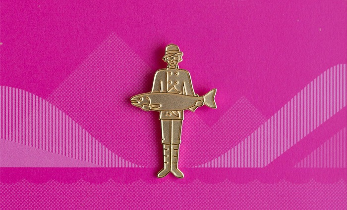 Golden Steve Badge - Steve Edge Design