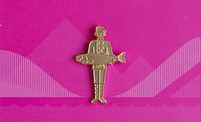 Golden Steve Badge - Steve Edge Design